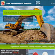 Vellum develops new website for York Environmental
