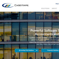 Vellum client CaseWare launches new site